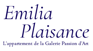logo EMILIA PLAISANCE l'appartement de la galerie Passion d'Art