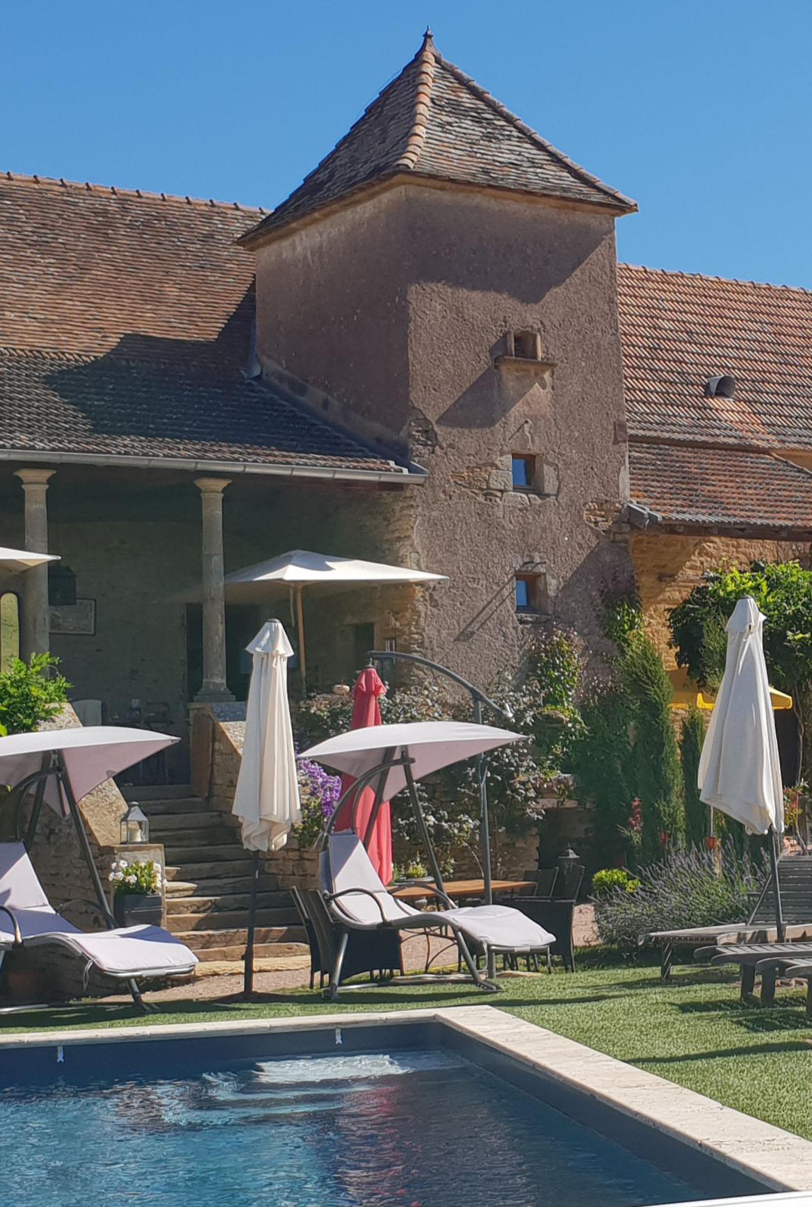 maison avec piscine en Bourgogne